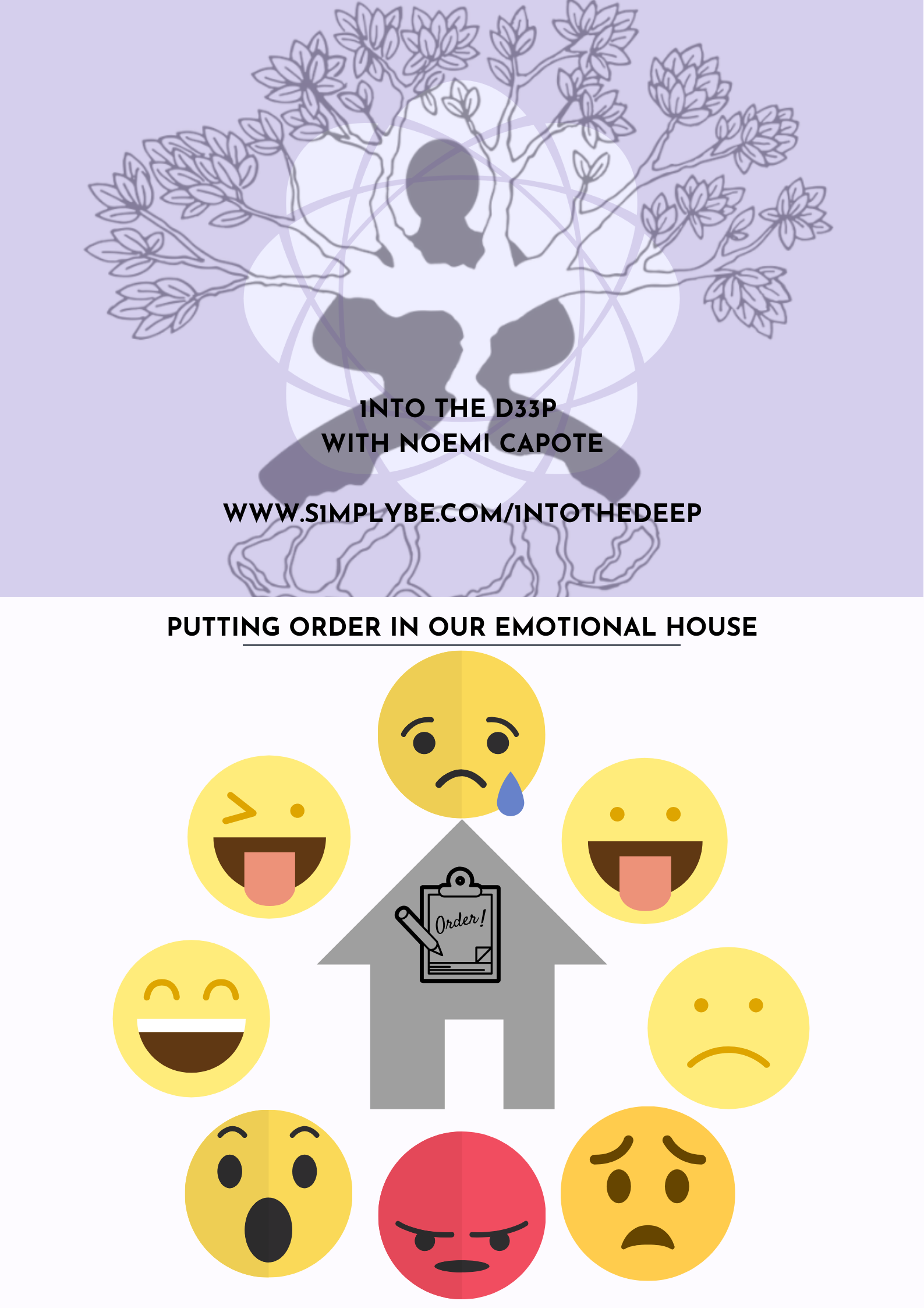 Putting order to our emotional house.